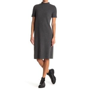 NWT FOR THE REPUBLIC Mock Neck Short Sleeve Dress